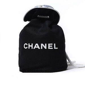 Chanel VIP Gift - Drawstring  Canvas Duffle Bag